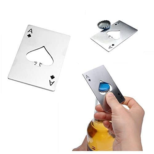 Casino Ace Card Bottle Opener