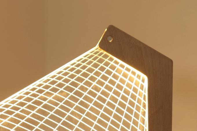 DESKi 2D-3D LED Lamp