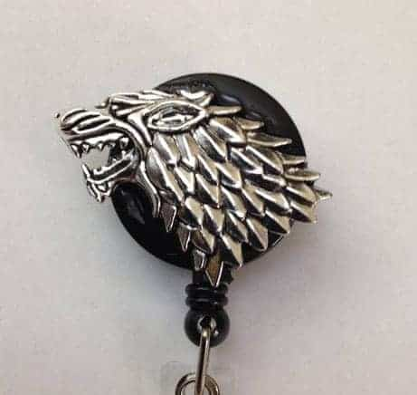 Dire Wolf Badge Reel