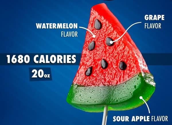 Gummy Watermelon Slice
