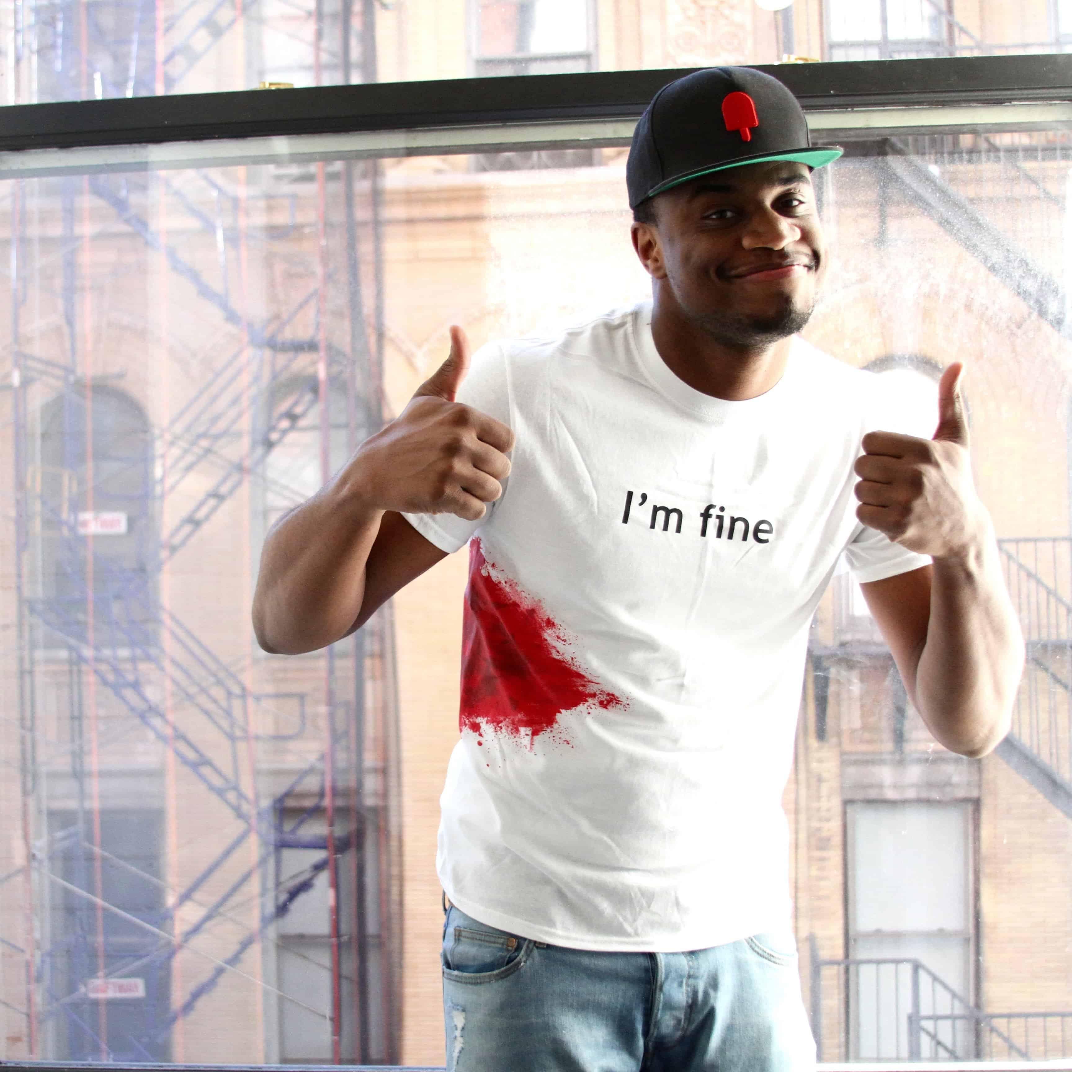 I'm Fine Funny T-Shirt