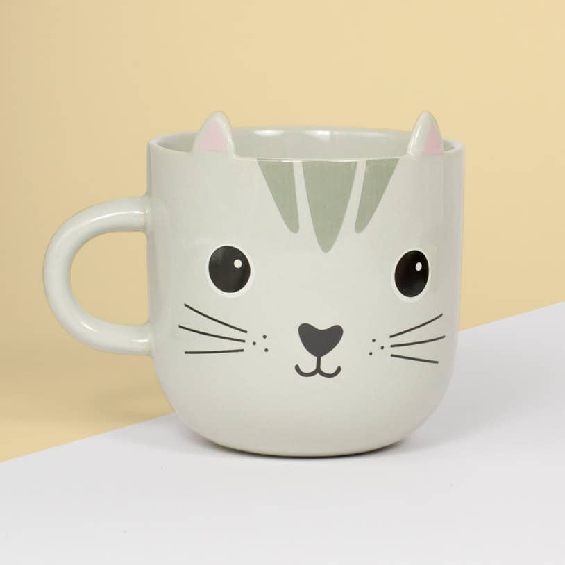 Kawaii Animal Coffee Mugs