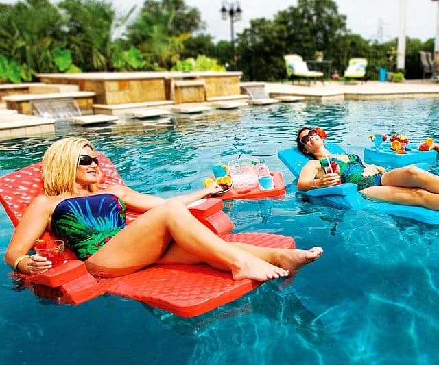 Adjustable Pool Recliner Float