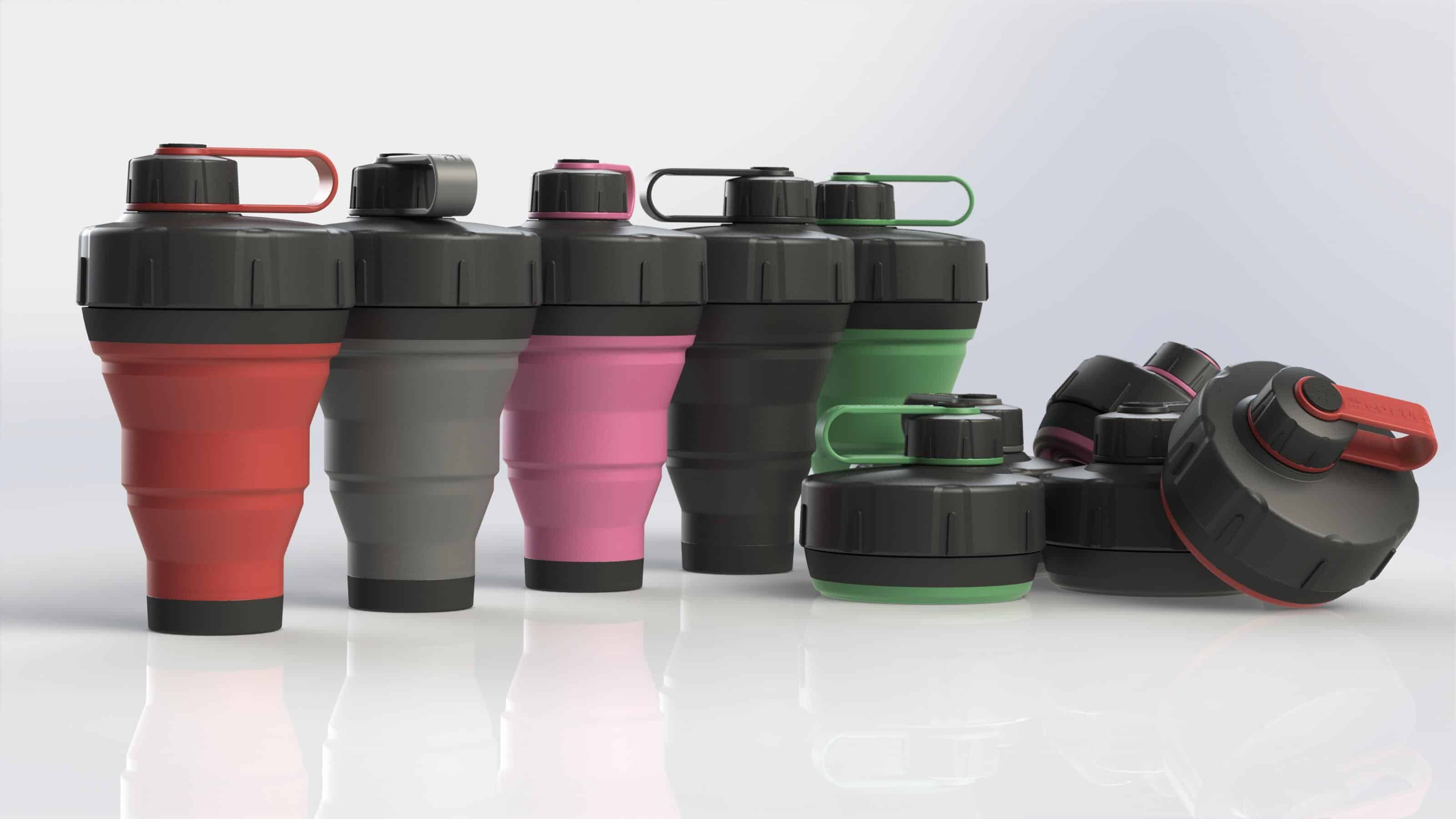 10 Unique & Innovative Collapsible Water Bottles For Travelers 13