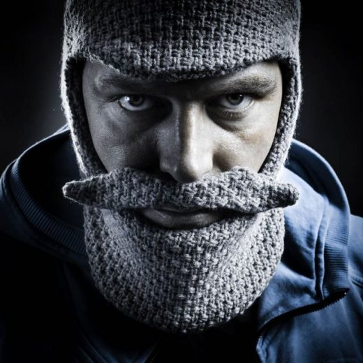 Grey Beard Head Beanie
