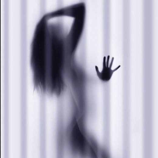 Hot Woman Shower Curtain