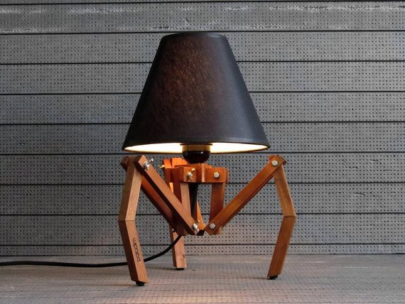 Adjustable Tripod Table Lamp