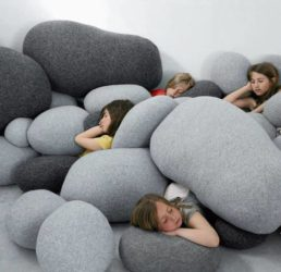 Pebble Rock Pillows