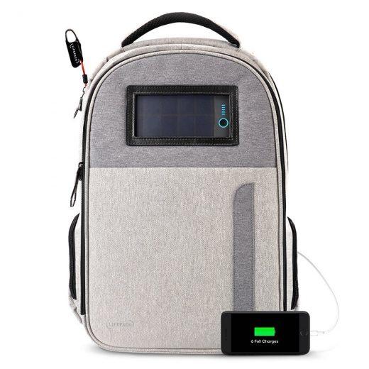 Solar Power Bag Pack