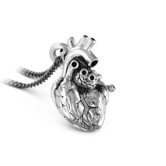 Anatomically Heart Shaped Necklace