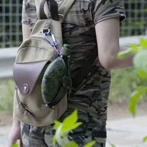 Collapsible Military Water Bottle