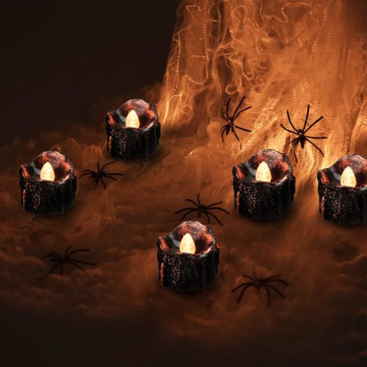 Halloween Flameless Candles