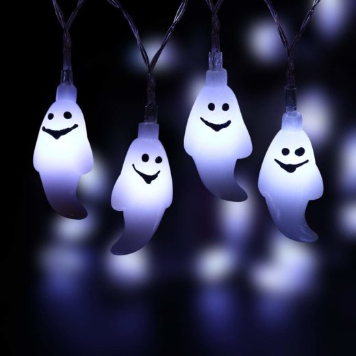 Halloween Ghost String Lights