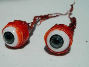 Pair of Ripped Out Eyeballs