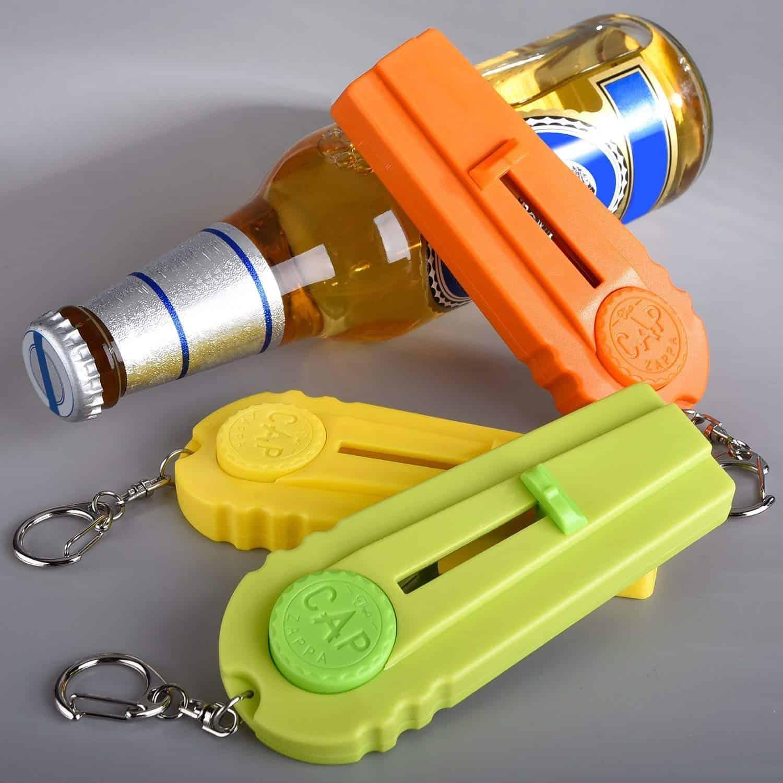 Bottle Opener Cap Launcher