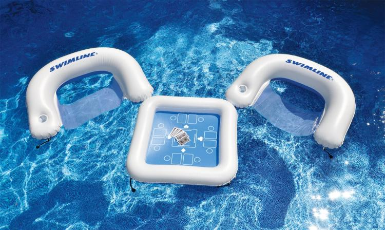 Floating Card Table Pool Float