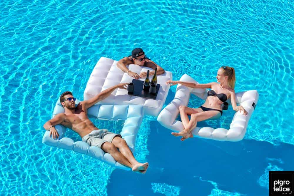 Floating Mesh Hammock Pool Float
