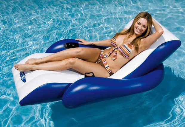 Floating Recliner Pool Lounge