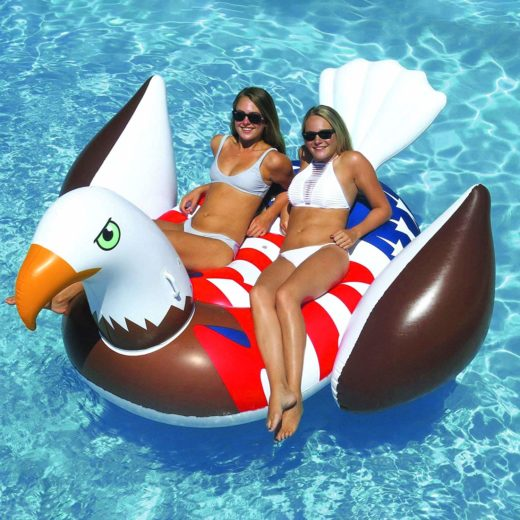 Giant Bald Eagle Pool Float