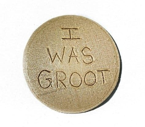 I Was Groot 3D Coasters