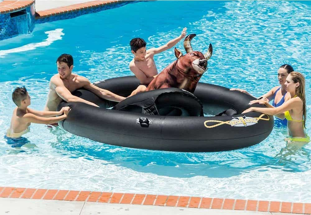 Inflat-A-Bull Novelty Pool Float