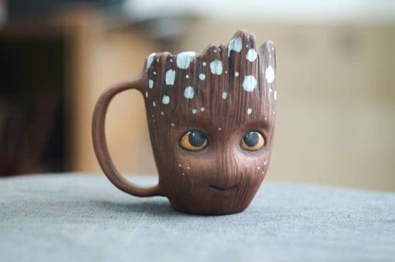 Personalized Baby Groot Mug
