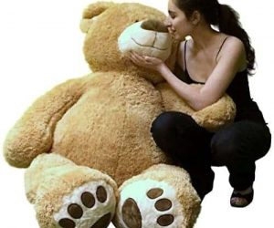 Personalized Giant Teddy Bear