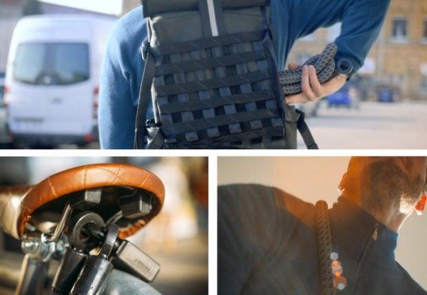 Textile Bike Lock