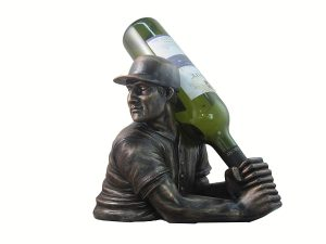 Baseball Batter Wine Bottle Holder