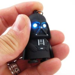 Darth Vader Keychain with LED