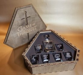 Game of Thrones Whiskey Decanter Set
