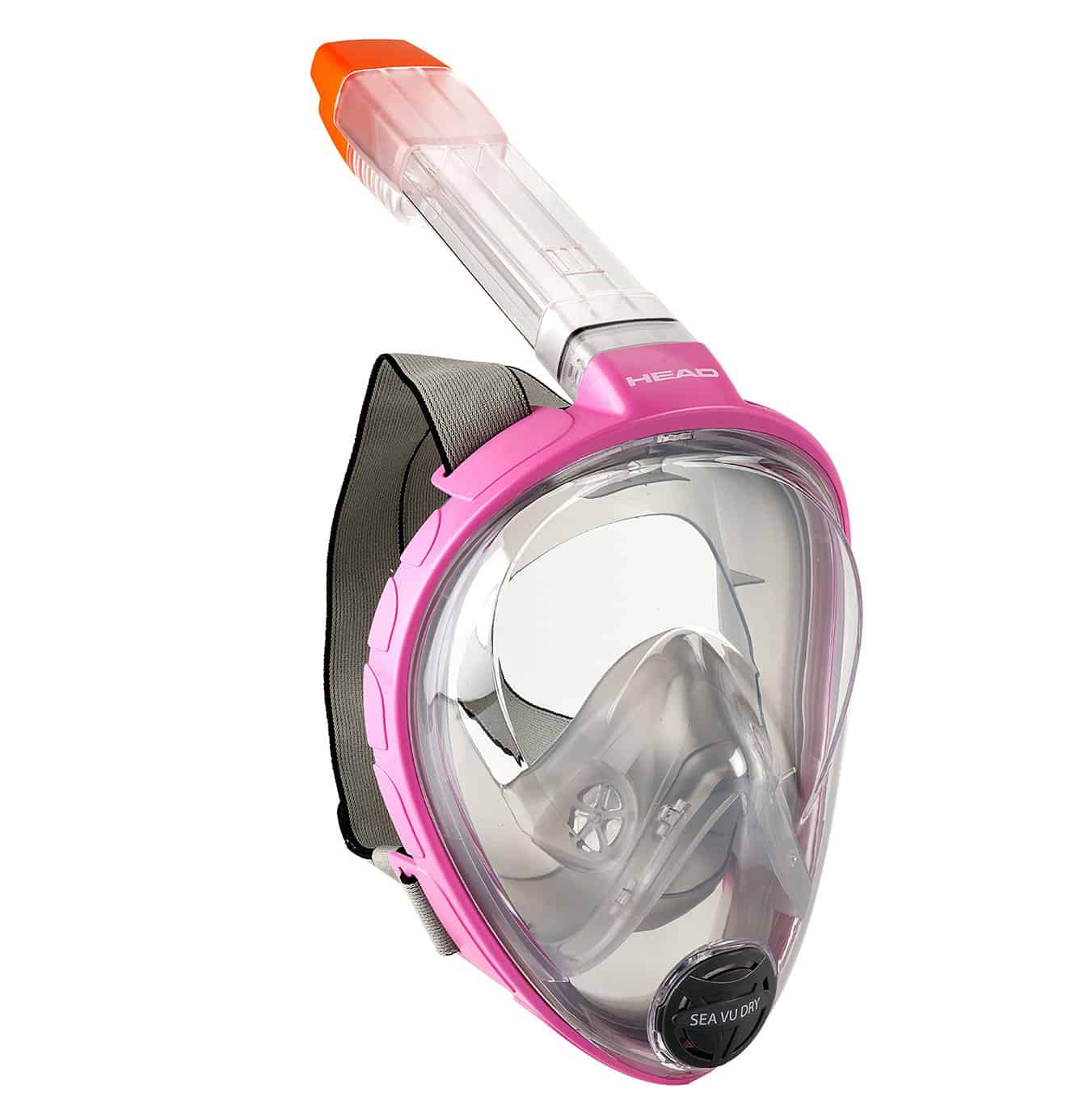 HEAD Vu Dry Full Face Snorkeling Mask