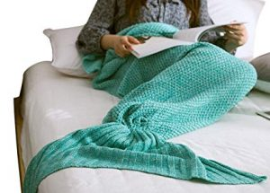 Mermaid Tail Sherpa Blanket