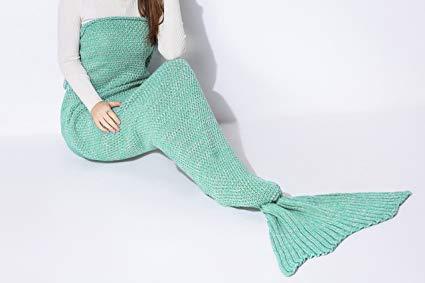 Mermaid Tail Sherpa Blanket