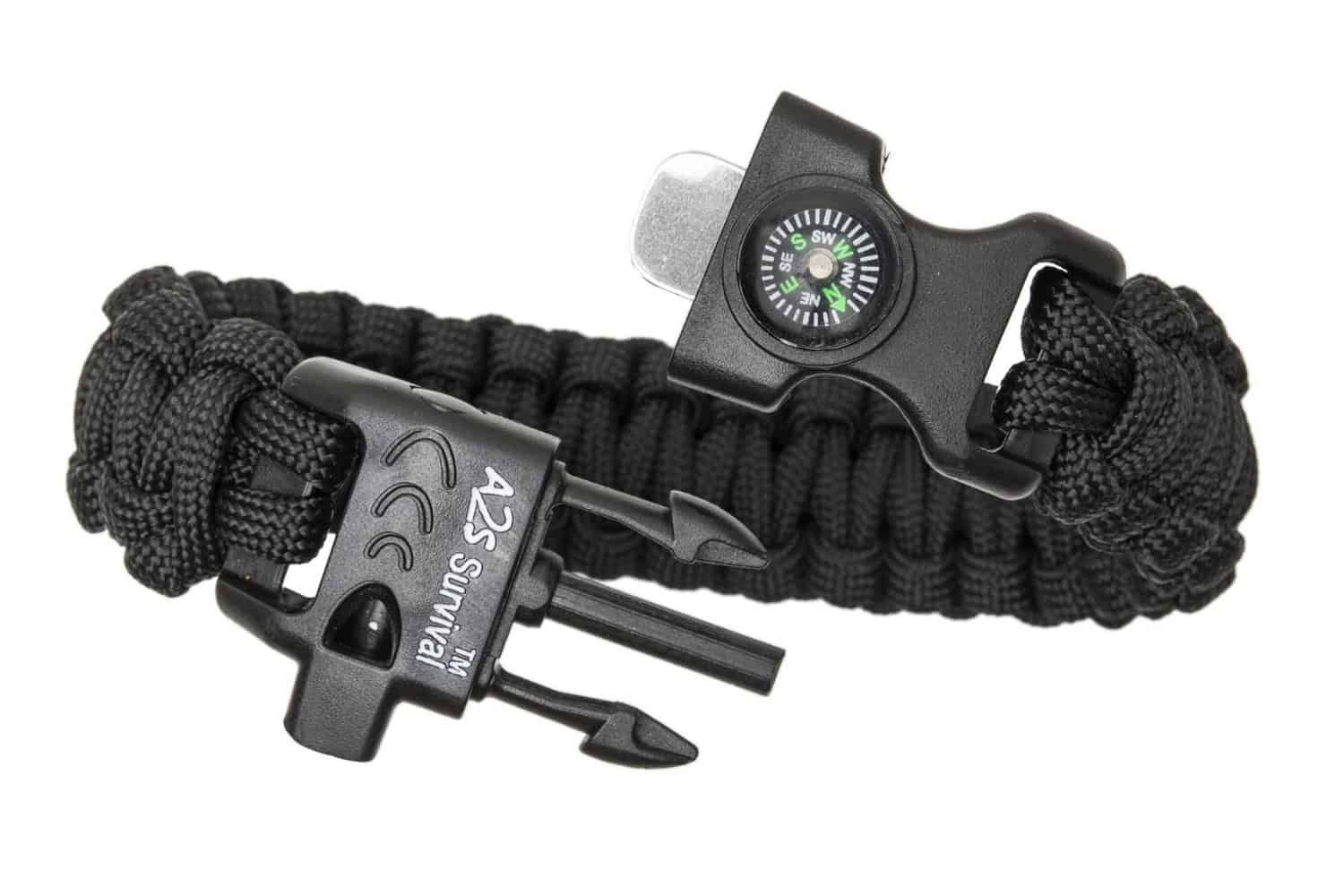Paracord Bracelet 5-IN-1 Survival Tool