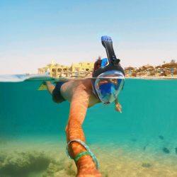 SEABEAST AF90 Full Face Snorkel Mask