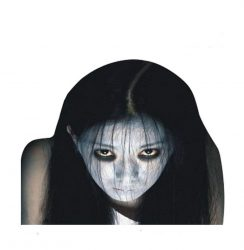 Scary Face Car Decal