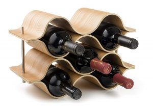 Wooden Wine Bottle Rack