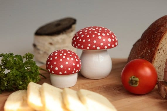 Amanita Salt & Pepper Shakers