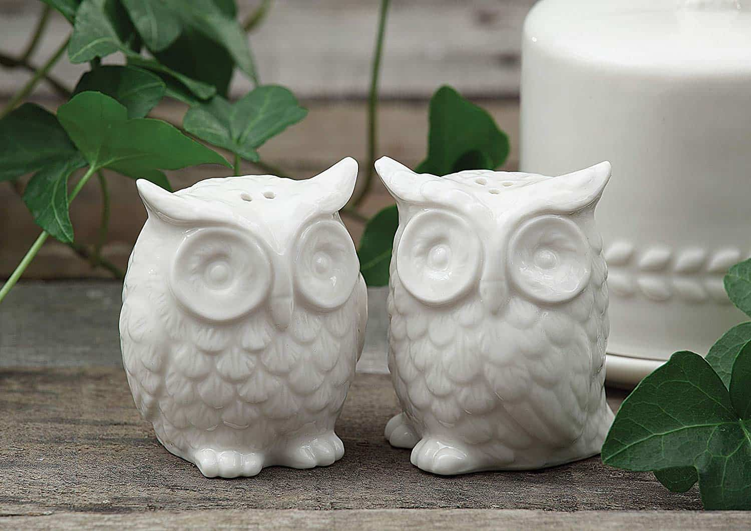 Ceramic Owl Salt and Pepper Shaker