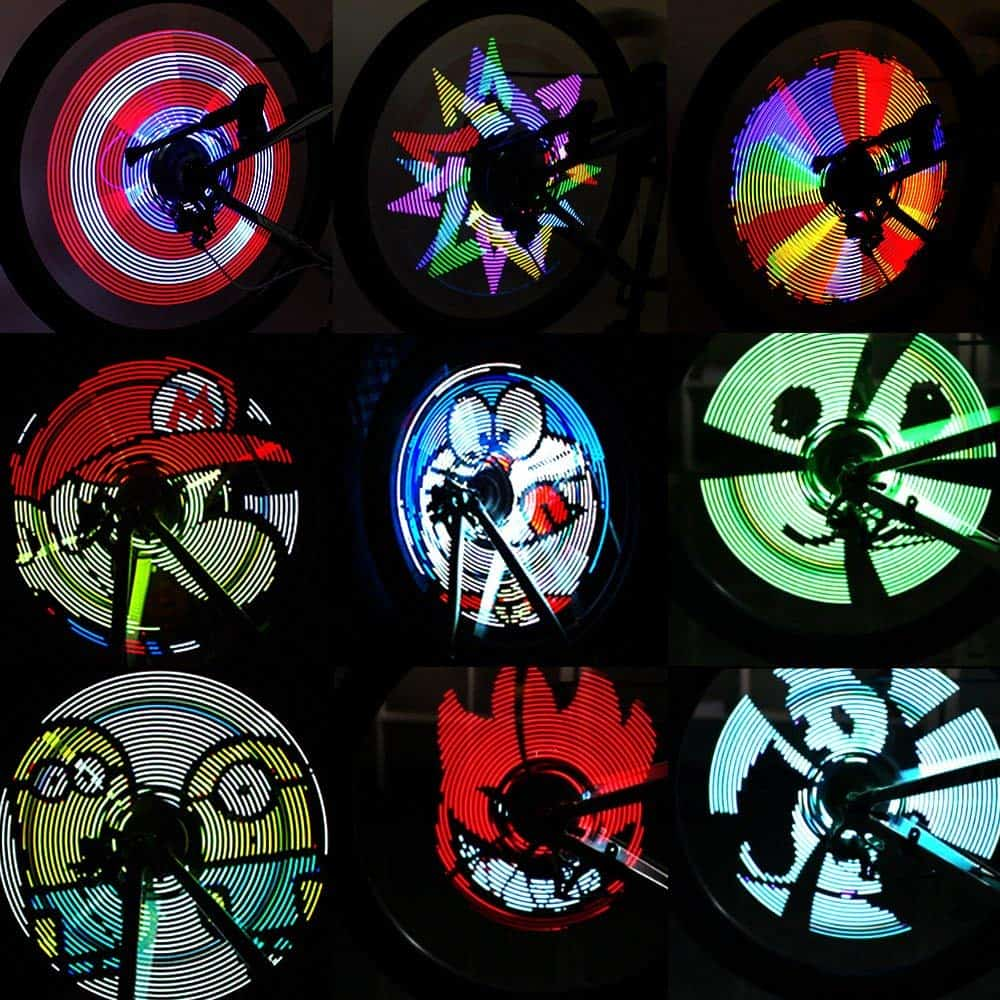 Colorful Bicycle Wheel Light