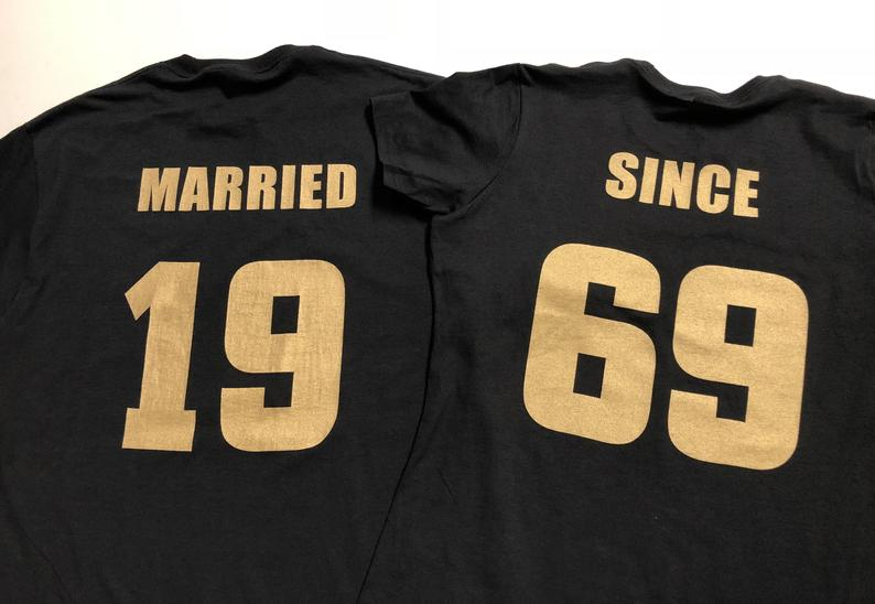 Married Since T-Shirt Gift