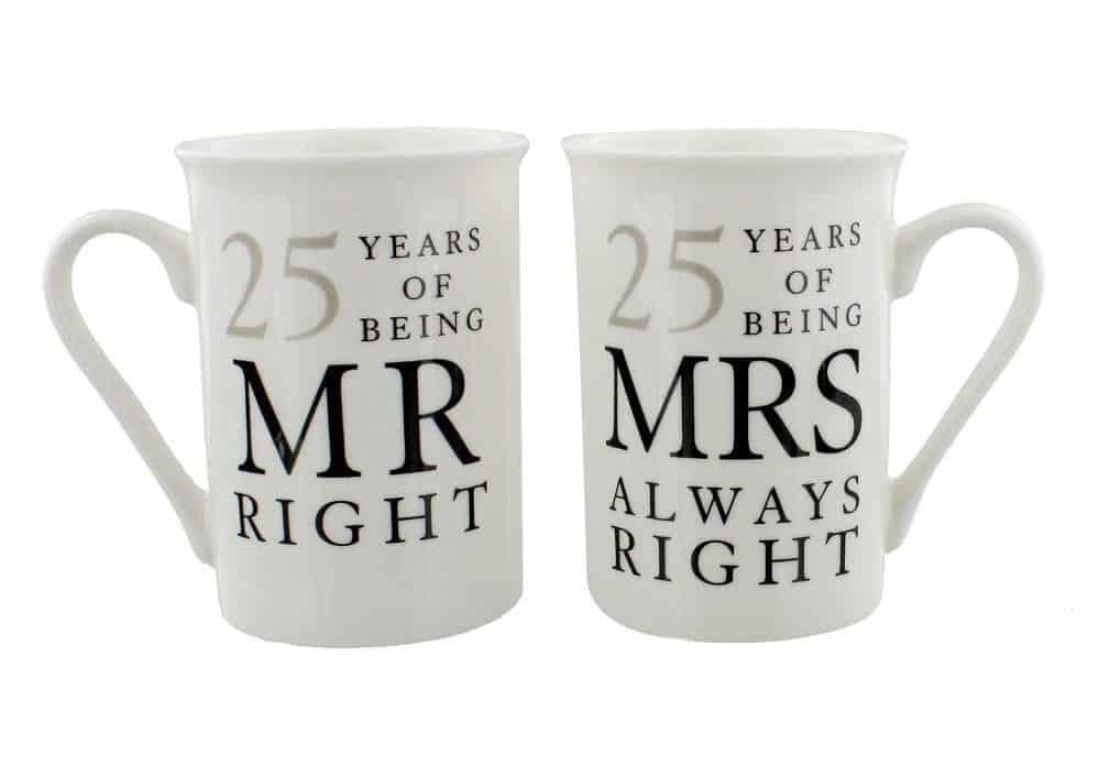 Mr Right & Mrs Always Right Mugs