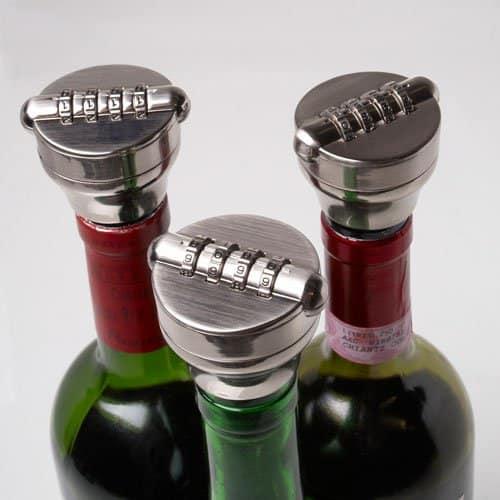 Wine Bottle Stopper Lock