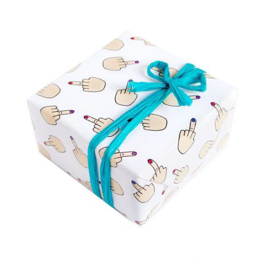 Middle Finger Gift Wrap