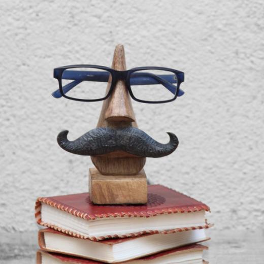 Mustache Men Spectacle Holder