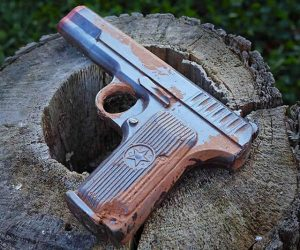 Pistol Shaped Chocolate