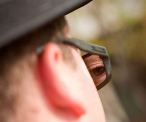 Spy Rear View Sunglasses