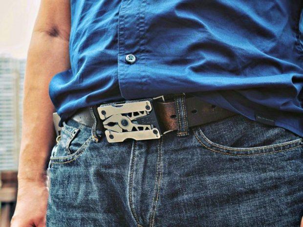 12-in-One Multitool Belt Buckle
