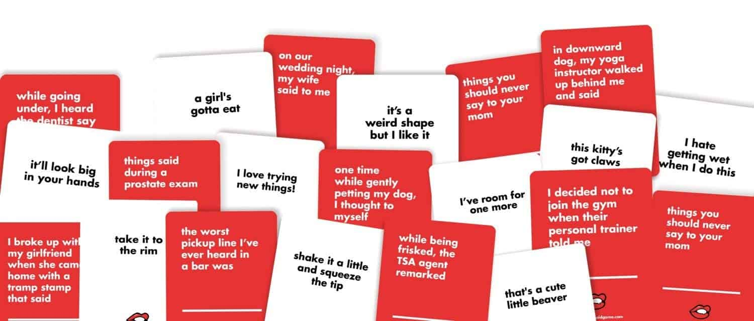 That's What She Said Card Game